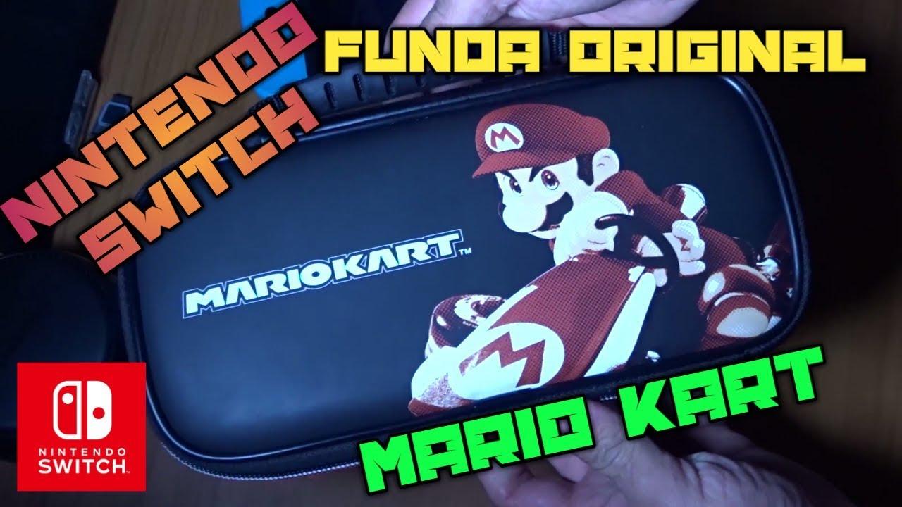 9d85f330e01 Funda NINTENDO SWITCH Mario Kart Official Case - YouTube