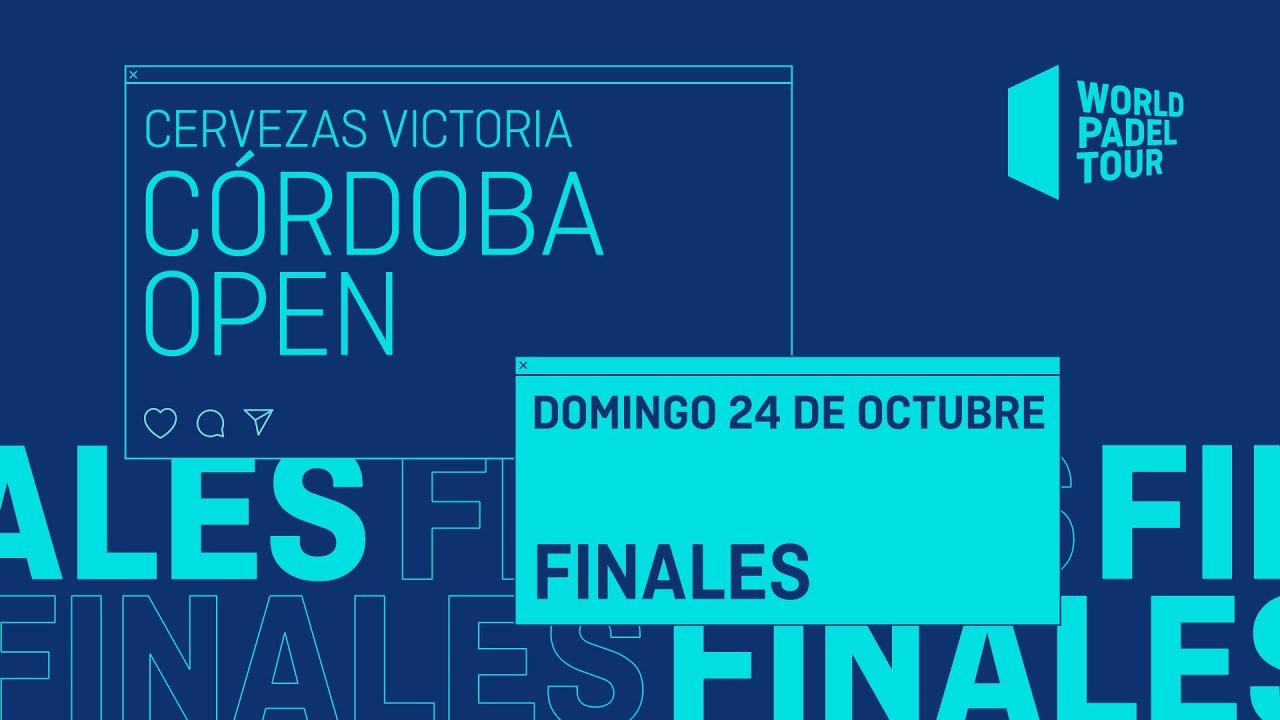 Download Finales - Cervezas Victoria Córdoba Open 2021  - World Padel Tour