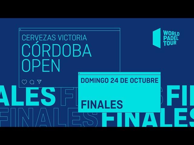Finales - Cervezas Victoria Córdoba Open 2021  - World Padel Tour