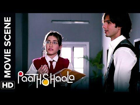 Shahid's first day at school | Paathshaala | Movie Scene