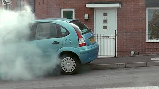 SMOKE BOMB PRANK | DESTROYING FRIENDS CAR
