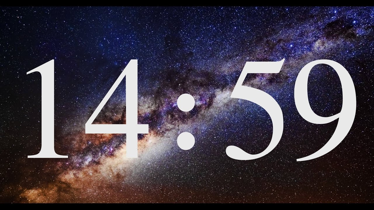 15 Minutes COUNTDOWN Timer ( v 573 ) with relaxing music piano 4k ...