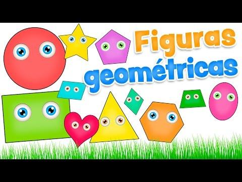 Figuras Geometricas Para Ninos Video Infantil De Las Formas En