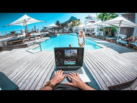 Work Hard, Play Hard - The Lightest Travel Laptop