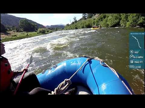Browns Canyon on the Arkansas River Part 1