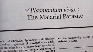 Life cycle of Plasmodium vivax. Helpful to NEET, CSIR, class 12, BSc, MSc, PGT and TGT.