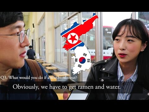 What Koreans Think Of War With North Korea + TRUMP