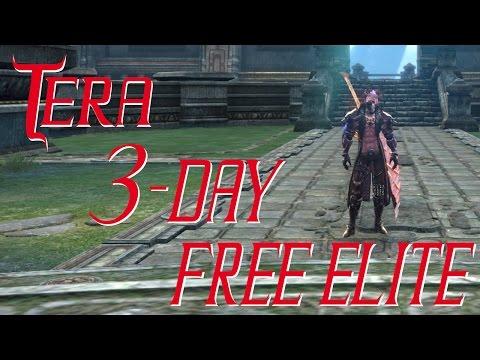 Tera - 3 Days FREE ELITE STATUS - Gold Giveaway Testimony