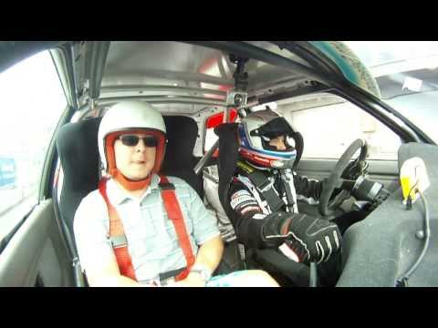 Race Taxi with Maťo Homola at Slovakia Ring - BMW 325i E30