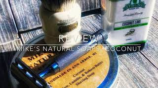 Mike's Natural Soaps-Coconut