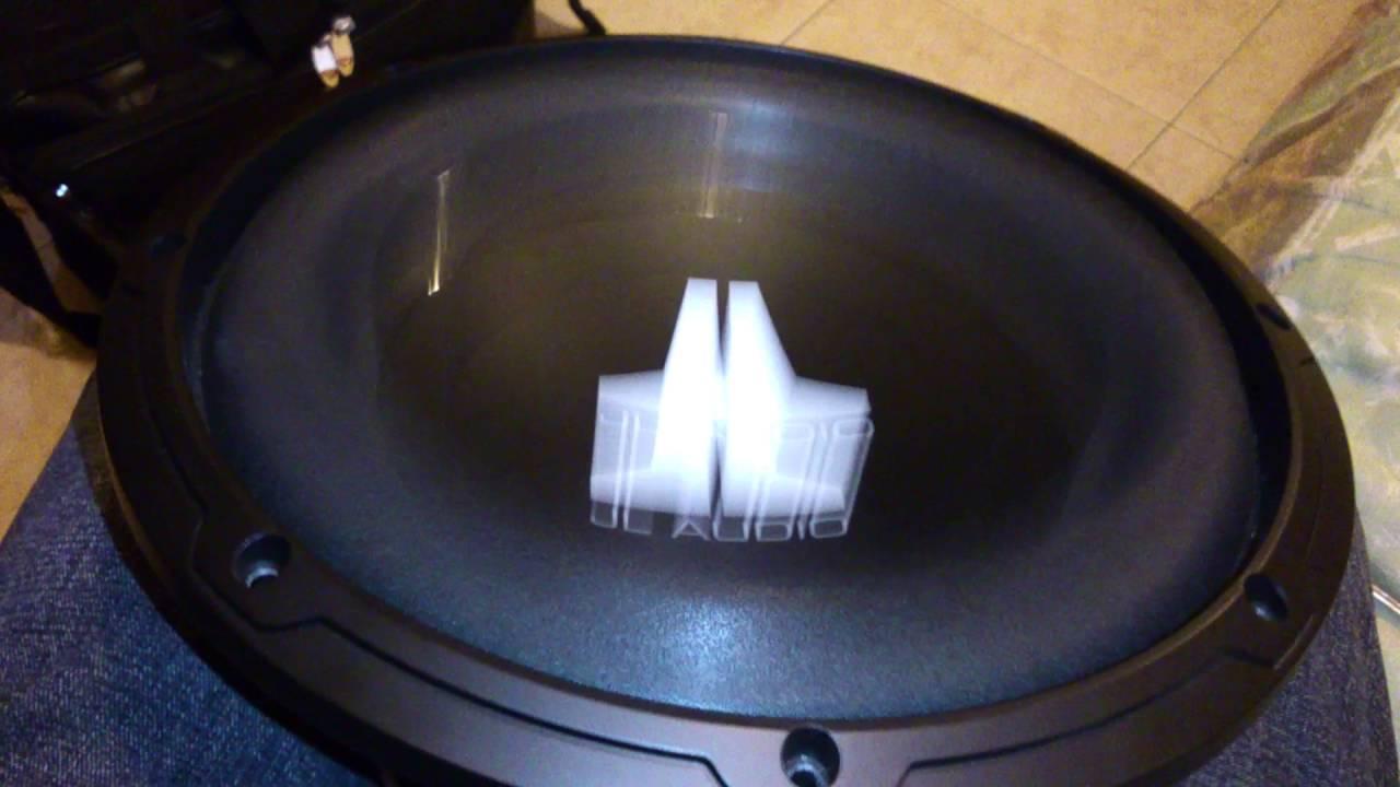 Subwoofer JL AUDIO 10W0V3 FREE AIR - YouTube