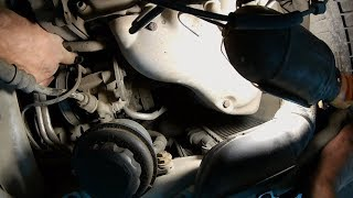 Замена ремня Daewoo Matiz