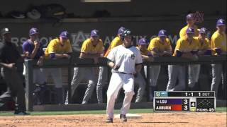 Auburn Baseball vs LSU Game 3 Highlights