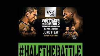 UFC 225: Whittaker vs Romero 2 Bets, Picks, Predictions on Half The Battle (w/ Chas Skelly)