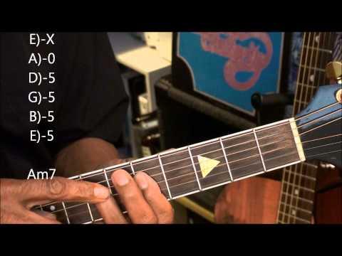 Guitar TABS Tutorial #234 Chicago 25 Or 6 To 4 Style Chords Tutorial Lesson EricBlackmonMusicHD