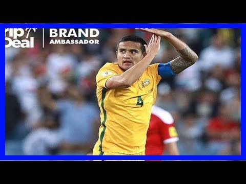 Tim cahill's sponsored celebration for socceroos winner against syria could prompt investigation