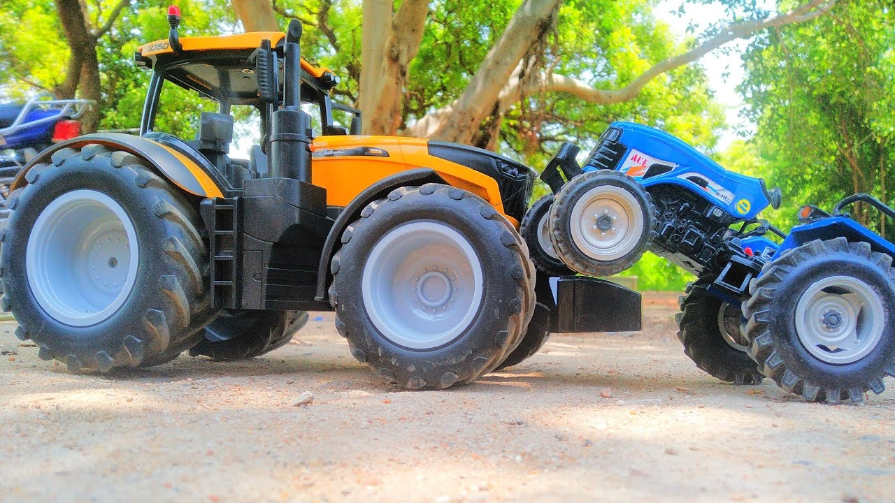 Challenger 1050 4wd Tractor Field Running Video Tractor Toy Videos Youtube