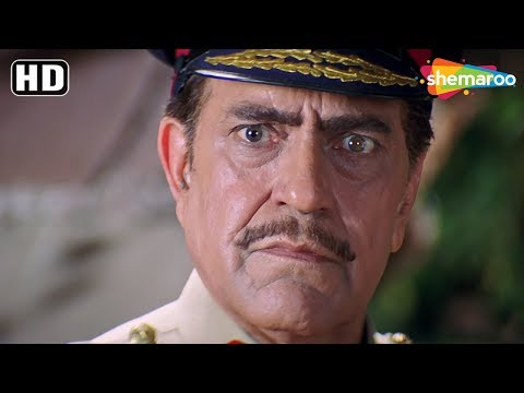 Most Popular Villain 'Amrish Puri' scenes from Dil Pardesi Ho Gayaa - Ashutosh Rana - Prem Chopra