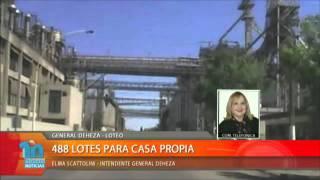 GENERAL DEHEZA - LOTEO  488 LOTES  PARA CASA PROPIA -ELMA SCATTOLINI - INTENDENTE GRAL DEHEZA