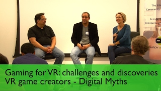 Gaming for VR firechat: Digital Myths