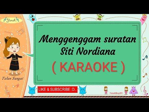 Menggenggam Suratan - Siti Nordiana (Karaoke)🎙️💕