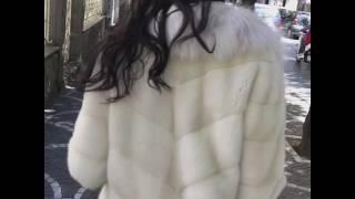 Шубы Италии Elpidio Loffredo Italy из меха норки и рыси