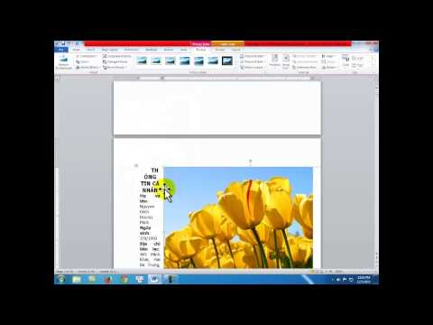 Giáo trình tin học văn phòng Microsoft Office Word