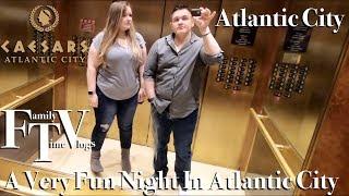 A Night In Atlantic City Caesars Harrahs and Guy Fieris Chop House Vlog 49