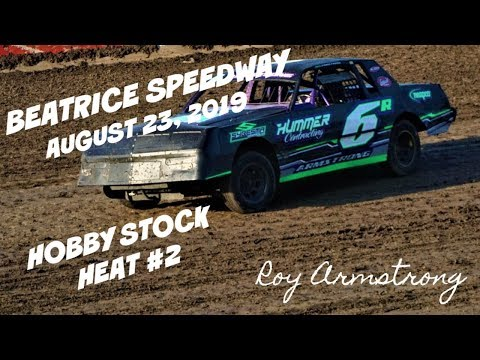 08/23/2019 Beatrice Speedway Hobby Stock Heat #2
