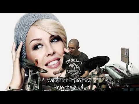 Kylie Minogue - Into The Blue (Drum Cover by Timothy Liem) (with lyrics)