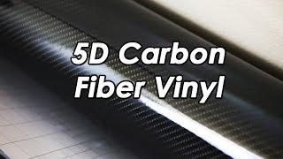 Unboxing: 5D Carbon Fiber Vinyl