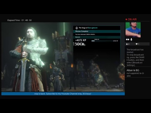 Middle Earth: Shadow of War #16 (Live) Gameplay (They Trying To Roast Me. Lol im dead.)