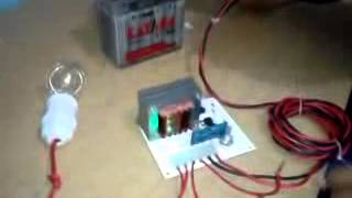 Setruman Ikan system Elektrik ( ElectroFishing )