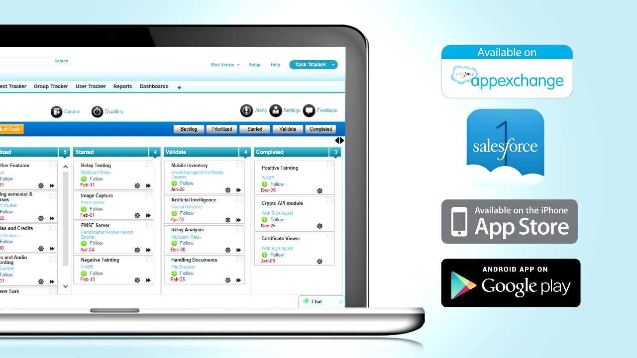 Task Tracker PRO for Salesforce.com and Salesforce1 Mobile - YouTube