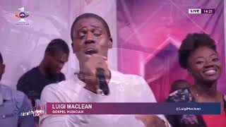 Luigi leads spirit-filled worship medley on Saturday Live