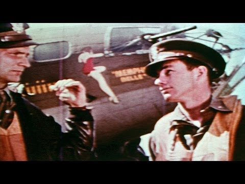 HD Historic Archival Stock Footage WWII Memphis Belle Air Force B-17 Flying Fortress