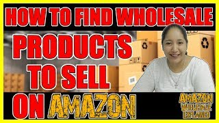 How to Find Wholesale Products to Sell on Amazon -A Supplier You Can Contact Today to Sell On Amazon