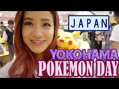 A Pokemon Day in JAPAN | Yokohama | KimDao in JAPAN