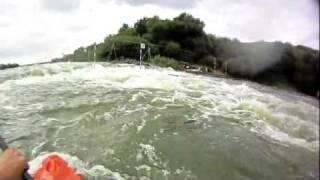 Ольшанская плотина (Липецкая область, Елец)(Проба экшн-камеры Waterproof 720P 5M Pixel CMOS на шлеме каякера., 2011-07-11T06:56:47.000Z)