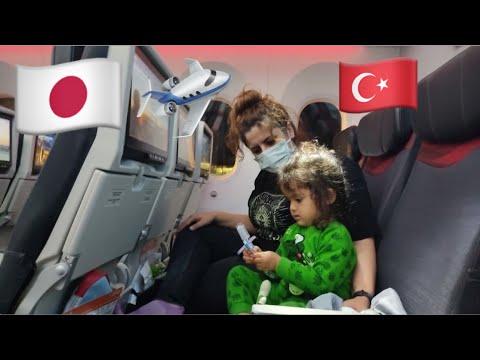 Japonya'dan Türkiye'ye Yolculuk ve Kavuşma Anı