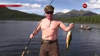 Опубликована полная версия видео отдыха Путина в Сибири