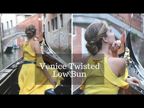 How to: Simple Bun Twisted | Hair Hack | Travel in Style | How 2 Travelers