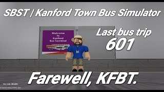 Singapore Bus Services Transit (Roblox)| Farewell, KFBT | Kanford Ter - Kanford Heights (loop)|