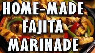 Home Made Fajita Marinade For Chicken, Shrimp, Steak, And Veggies