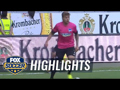 Eintracht Frankfurt vs. Hertha BSC Berlin | 2016-17 Bundesliga Highlights