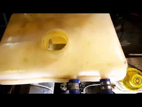 Промывка системы охлаждения двигателя УАЗ Патриот лимонной кислотой
