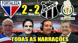 Todas as narrações - Fortaleza 2 x 2 Ceará / Leão Campeão Cearense 2015