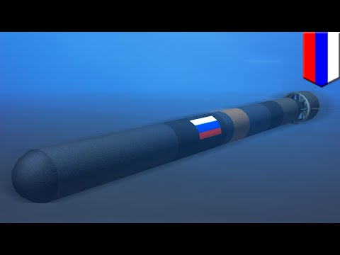 Russia developing a 100-megaton underwater drone nuke, sugge