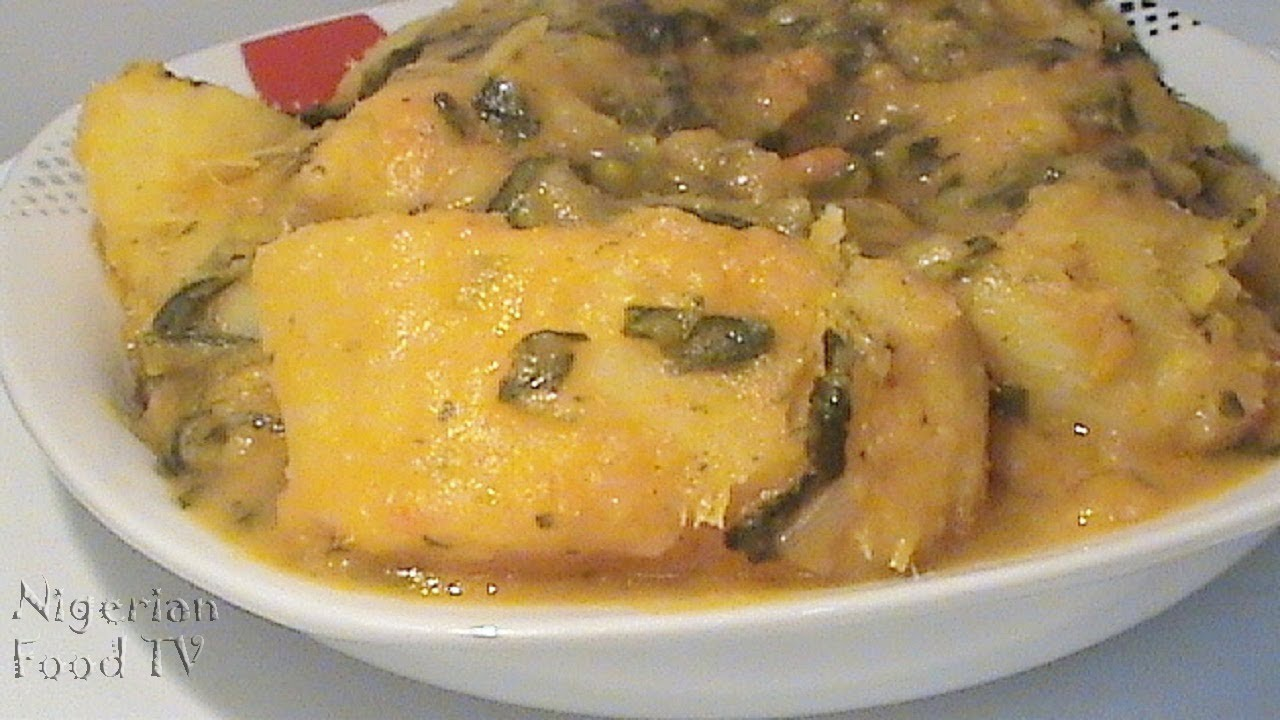 Nigerian Yam: How To Cook Nigerian Yam Porridge With Vegetables