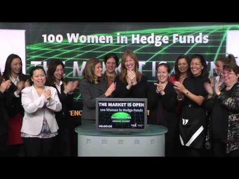 100 Women in Hedge Funds opens Toronto Stock Exchange, December 13, 2013.